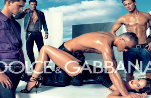 Dolce & Gabbana also knows how to show the consumers some sex.