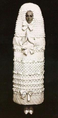 "Den ultimative ""livmoder-strik"". Foto fra Pinterest."