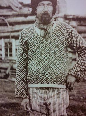 Fiskernes foretrukne beklædningsgenstand; Den strikkede trøje.