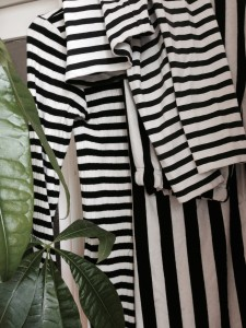 "And yet another ""theme"" in my closet. Only 20% of ""all my stripes""..."