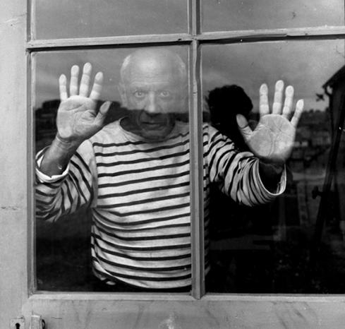 Picasso i den ikoniske bluse.
